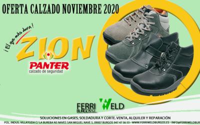 Oferta calzado gama Zion