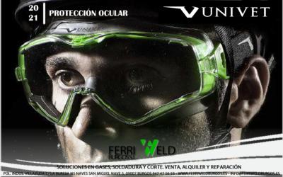 Protección ocular UNIVET 20-21