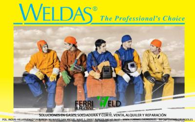 Protección laboral soldadura WELDAS