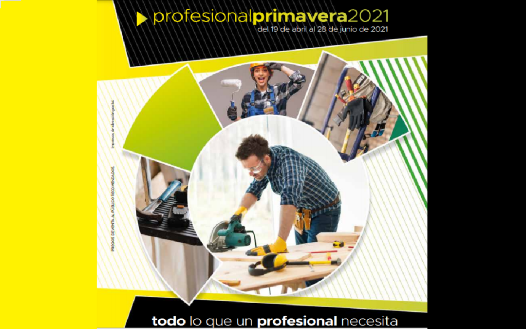 Oferta profesional primavera Abril-Junio 2021